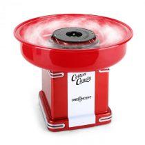 OneConcept Candyland 2, 500 W, červený, retro prístroj na prípravu cukrovej vaty