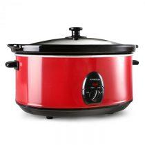 Klarstein Bristol 65, červený, pomalý hrniec, 300 W, 6,5 litrov