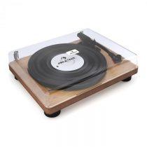 Auna TT Classic WD, drevená dyha, retro gramofón, USB, linkový výstup, reproduktor
