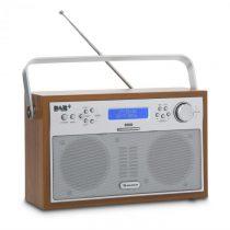 Auna Akkord, orech, digitálne rádio, prenosné, DAB+/PPL-FM, rádio, budík, LED