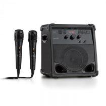 Auna RockStage, karaoke systém, bluetooth, CD+G, USB, MP3, prevádzka na batérie, 2 x mikrofón