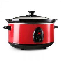 Klarstein Bristol 35, červený, 200 W, 3,5 litrov, elektrický hrniec