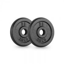 Capital Sports IPB 2.5, čierne, závažie na činky, pár, 30 mm, 2,5 kg