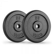Capital Sports IPB 10, čierne, závažie na činky, pár, 30 mm, 10 kg