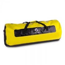 Yukatana Quintoni 120, čierna/žltá, lodný vak, športová taška, 120 litrov, nepremokavá