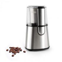 Klarstein Speedpresso, strieborný, mlynček na kávu, 200 W, 65 g, trieštivý mlecí mechanizmus, ušľach...