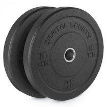 Capital Sports Renit, hi temp gumový kotúč, 50,4 mm, hliníkové jadro, guma, 2 x 10 kg
