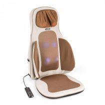Klarfit Vanuato, béžová, masážna podložka na sedenie, shiatsu masáž, 3D masáž