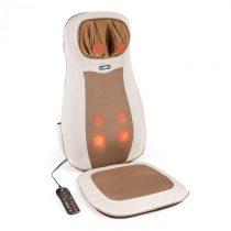 Klarfit Nukuoro, béžová, masážna podložka na sedenie, shiatsu masáž, 3 masážne zóny