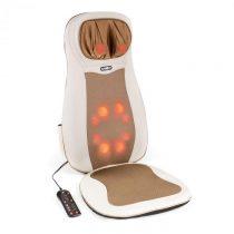 Klarfit Niuwe, béžová, masážna podložka na sedenie, shiatsu masáž, 3 masážne zóny