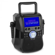 """Auna Stage Hero, karaoke systém, DVD, 7"""", TFT displej, 2 mikrofóny, 25 W, RMS"""