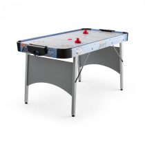 "OneConcept Polar Combat, strieborný, air hokejový stôl, 6"", 76 x 82 x 161 cm (ŠxVxH)"