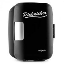 OneConcept Picknicker, termobox s funkciou chladenia/udržania v teple, mini, 4 l, AC DC, auto, eMark...
