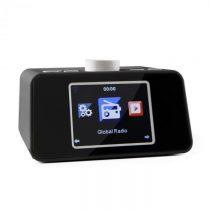 """Auna i-snooze, čierne, internetové rádio, rádiobudík, WLAN, USB, 3,2"""" TFT farebný displej"""