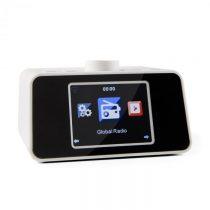 """Auna i-snooze, biele, internetové rádio, WLAN, USB, AUX, 3,2"""" TFT farebný displej"""