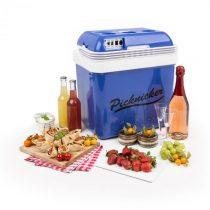 Klarstein Big Picknicker, termo chladiaci box, A++, AC/DC, auto, 24 l, modrý