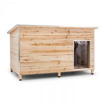 OneConcept Schloss Wuff, búda pre psa, veľkosť L, 90 x 120 x 90 cm, izolovaná, závetrie, drevo