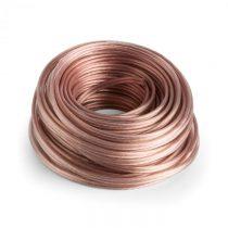 Numan reproduktorový kábel - OFC, transparentný, medený, 2 x 4 mm², 30 m