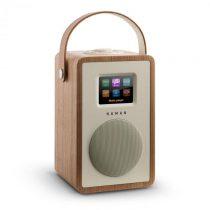 Numan Mini Two, orech, dizajnové internetové rádio, wifi, DLNA, bluetooth, DAB/DAB+, FM