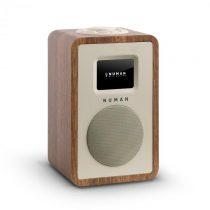 """Numan Mini One, dizajnové digitálne rádio, 2,4"""" TFT farebný displej, bluetooth, DAB+, FM, o..."""