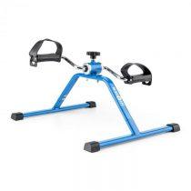 Klarfit Continus Mini Bike, pedálový prístroj na cvičenie, manuálny odpor, modrá farba
