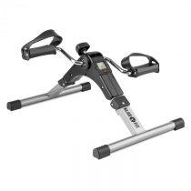 Klarfit Continus Pro Mini Bike, pedálový prístroj na cvičenie, displej, sklápací, čierna farba