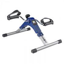 Klarfit Continus Pro Mini Bike, pedálový prístroj na cvičenie, displej, sklápací, modrá farba