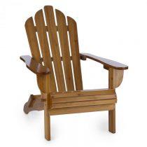 Blumfeldt Vermont, záhradná stolička, adirondack, 73 x 88 x 94 cm, sklopiteľná, hnedá