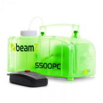 Beamz S500PC, transparentný, dymostroj, RGB LED diódy, 500 W, vrátane hmlovej tekutiny