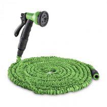 Waldbeck Water Wizard 15, flexibilná záhradná hadica, 8 funkcií, 15 m, zelená