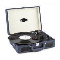 Auna Peggy Sue, retro gramofón, LP platne, USB, džínsový denim