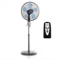 Klarstein Summerjam, stojanový ventilátor, 41 cm, 50 W, 3 stupne rýchlosti, diaľkový ovládač, šedý
