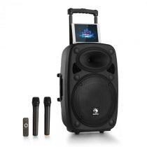 """Auna Streetstar 15 mobilné PA-zariadenie 15"""" subwoofer trolley BT USB/SD/MP3 AUX"""