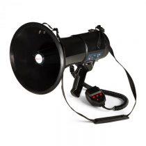 Auna MEGA080USB, megafón, 80 W, MP3 prehrávač, USB, nahrávanie, dosah 700 m, čierny