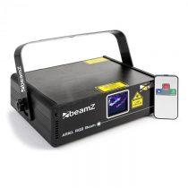 Beamz Ariel, svetelný laser, RGB, 9 DMX kanálov, 350 mW, master/slave, diaľkový ovládač