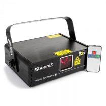 Beamz Thebe, svetelný laser, showlaser, červený 150 mW laser, 9 DMX kanálov, master/slave, automatic...