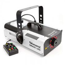 Beamz S1500LED, 1500 W, dymostroj + 9 RGB LED svetiel, 2,5 l nádrž, DMX