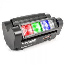 Beamz MHL820, 24 W, lištový svetelný efekt sdvojitými lúčmi, 8 x 3 W RGBW LED, DMX, infračervený di...