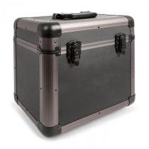 "Power Dynamics PRC80 12"" Titanium kufrík na gramofónové platneVinyl Case 80 platní"
