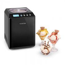Klarstein Vanilly Sky Family, výrobník zmrzliny a mrazeného jogurtu, zmrzlinovač, 250W, 2,5 l, čiern...