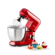 Klarstein Bella Pico Rossa, mini kuchynský robot, 550 W, 6 stupňov, 4 litre, červený