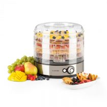 Klarstein Fruitower M sušička ovocia, 35-70°C, 5 poličiek, 200-240W, ušľachtilá oceľ