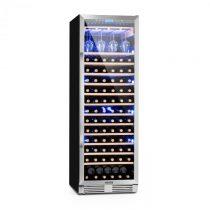 Klarstein Vinovilla Grande, veľkoobjemová vinotéka, chladnička, 425l, 165 fl., 3-farebné LED osvetle...