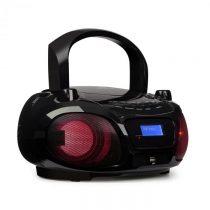 Auna Roadie DAB, CD prehrávač, DAB/DAB+, FM, LED disko svetelný efekt, bluetooth, čierna farba