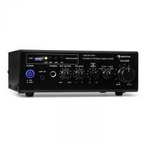 Auna Amp3 USB, mini stereo zosilňovač, mikrofónový vstup, slúchadlový výstup, čierny