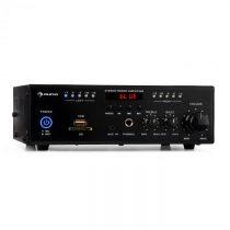 Auna Amp4 BT, mini stereo zosilňovač, bluetooth, diaľkový ovládač, čierny
