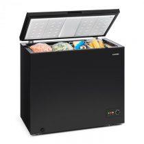 Klarstein Iceblokk 200, truhlicová mraznička, mraziaci box, A++, 200 litrov, 2 závesné koše, koliesk...