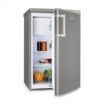 Klarstein CoolZone 120 Eco, chladnička s mrazničkou, A+++, 118 litrov , vzhľad ušľachtilej ocele