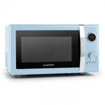 Klarstein Fine Dinesty, 2 v 1 mikrovlnná rúra: 23 l, 800 W/gril: 1000 W, modrá