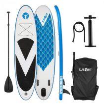 Klarfit Spreestar 320, nafukovací paddleboard, SUP-Board-Set, 320x12x81 cm, modro-biela farba